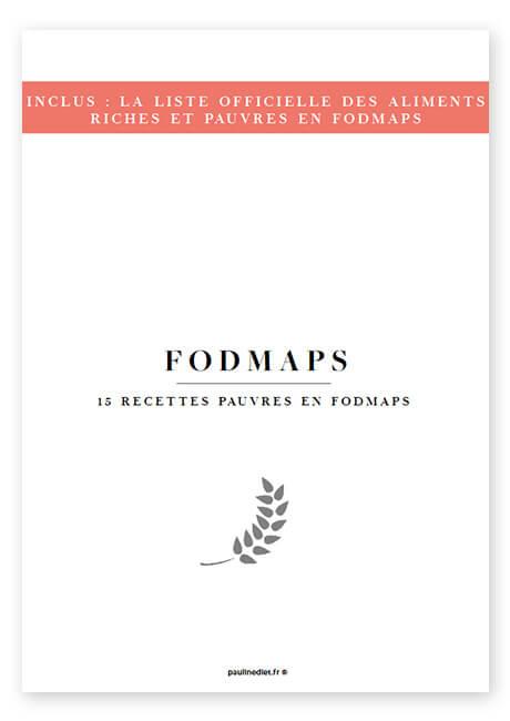 un livre de recettes pauvres en fodmap